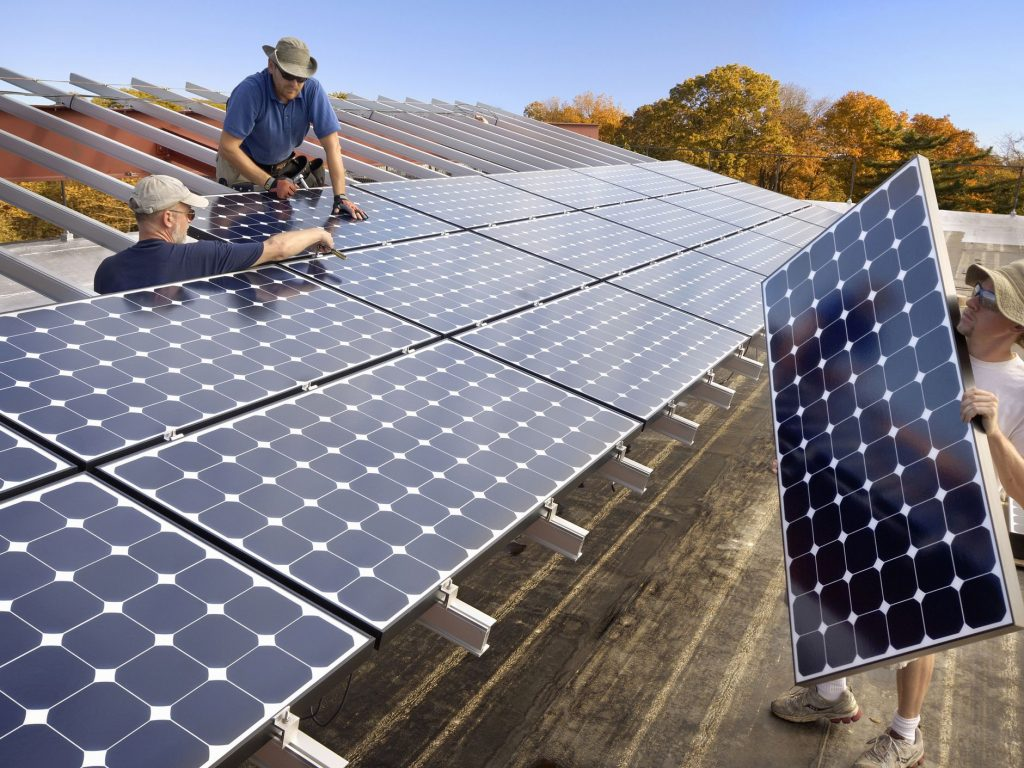 How to use solar power sources in industries?
