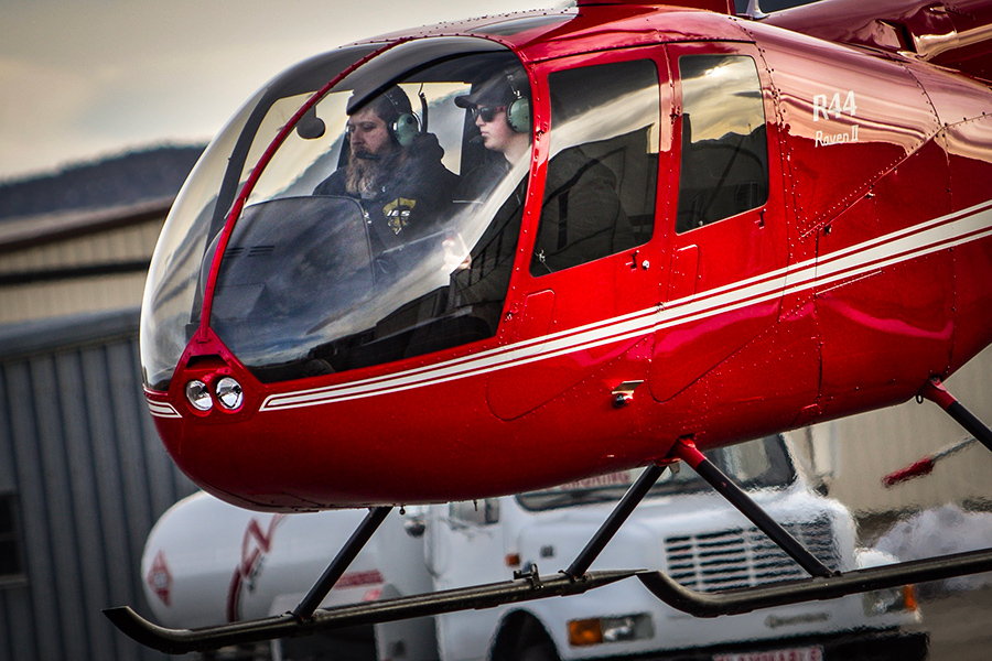How to earn from a helicopter?
